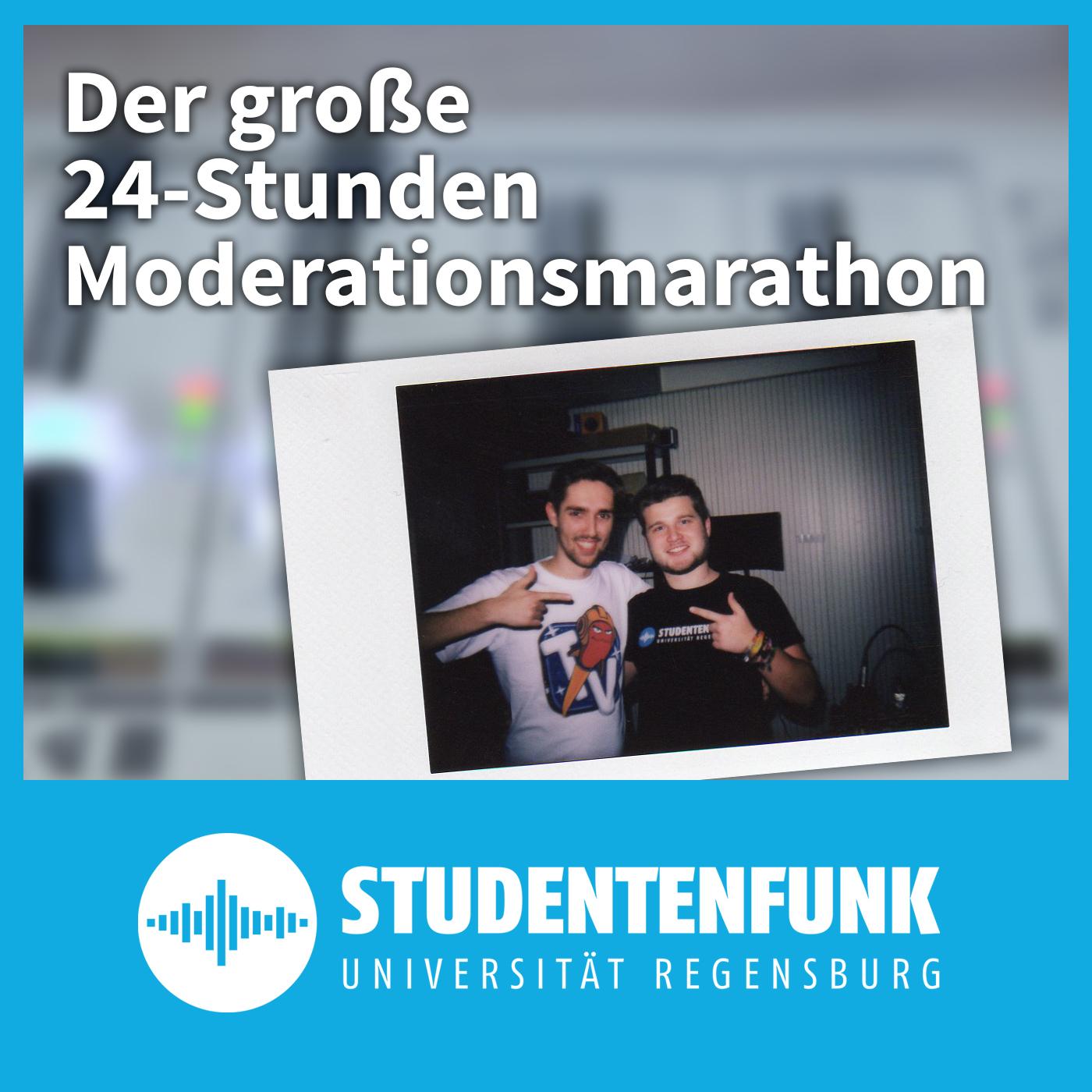 Der große 24-Stunden Moderationsmarathon – Studentenfunk Regensburg