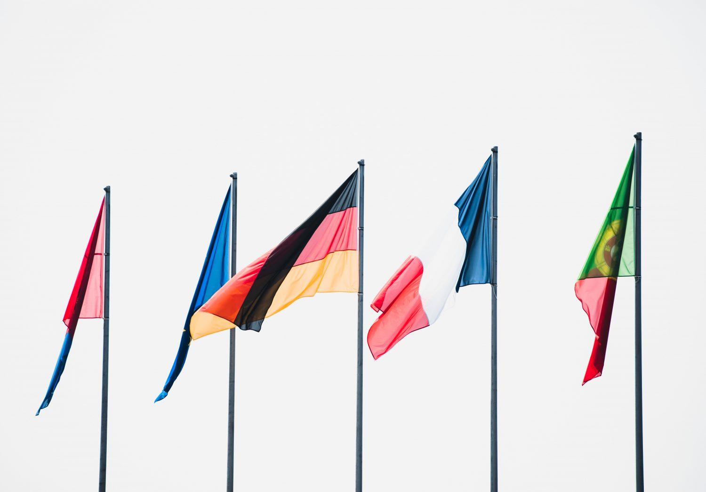 Internationale Flagge